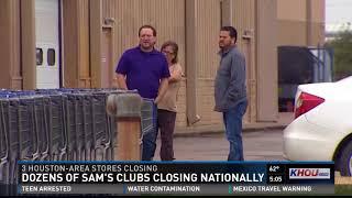 Dozens of Sam's Clubs closing nationally
