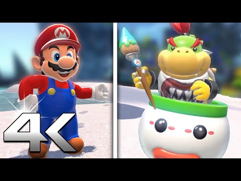 Super Mario 3D World + Bowser s Fury   New Story Mode + Features (4k HD Trailer)
