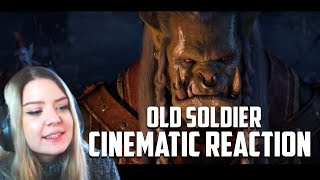 OLD SOLDIER | Cinematic Reaction | Saurfang for warchief pls