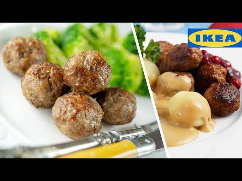 ФРИКАДЕЛЬКИ из ИКЕА с сливочным соусом | проверка рецепта фрикаделек IKEA