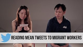 Singaporeans Read Mean Tweets To Migrant Workers (Part 1)
