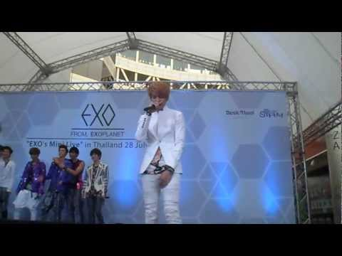 [FANCAM] EXO's Mini Live in Thailand 28 July 2012 - Two Moons