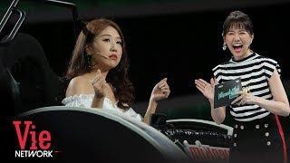 Cô Gái Hàn Quốc Siêu Dễ Thương Trong Màn Đối Đáp Với Hari Won | VieTalents Official