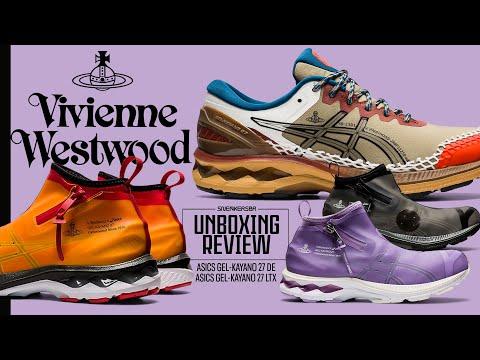 Vivienne Westwood Assina Novos Tênis ASICS | UNBOXING+REVIEW ASICS GEL-Kayano 27 X Vivienne Westwood