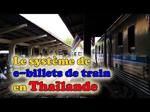 acheter des e-billets de train en thaïlande