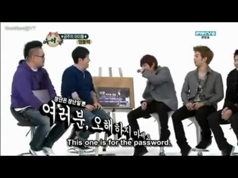 MBLAQ 120210 Weekly Idol part 2