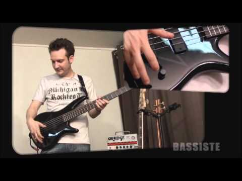 Test - Ibanez PIB1 Pete Iwers (In Flames) Signature