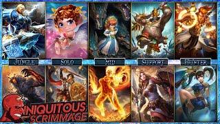 Team Iniquitous - Cupid Solo Lane - Smite Conquest Scrims
