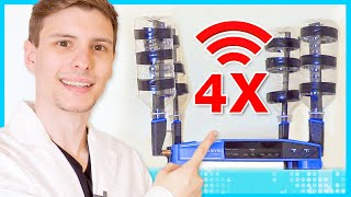 Quadruple Your Wi-Fi Speed for Free