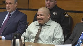Cop-killing suspect has chilling courtroom outburst