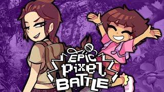 Lara Croft VS Dora l'exploratrice - EPIC PIXEL BATTLE [EPB SAISON 2]