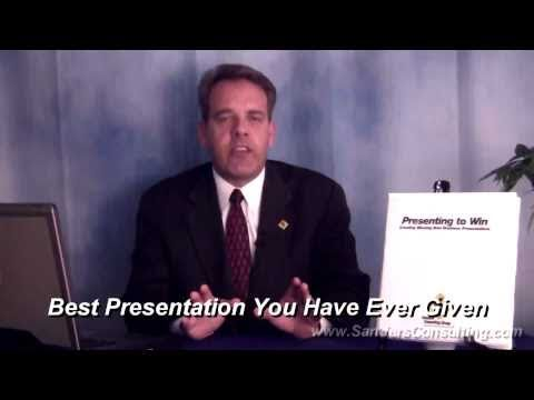 Winning Formal Presentations | Presenting to Win