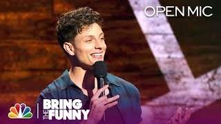 Stand-Up Comedian Matt Rife Performs in the Open Mic Round - Bring The Funny (Open Mic)