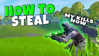 How To Steal Your Teammates Kills In Fortnite | High IQ Plays