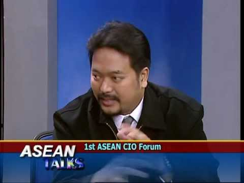 1st ASEAN CIO FORUM 2012 on ASEAN Talks part2