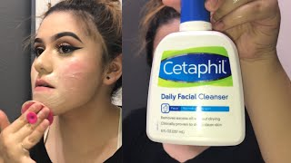 Removing makeup routine !