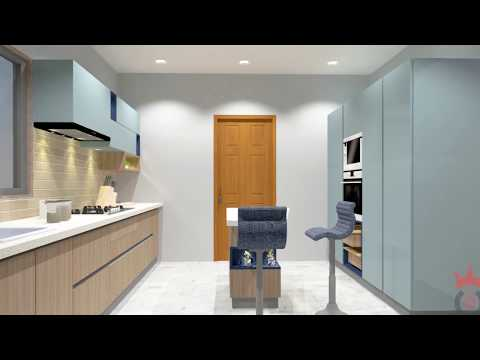 Modular kitchen | The Blue Ocean ready to take charge of your home | Ahmedabad