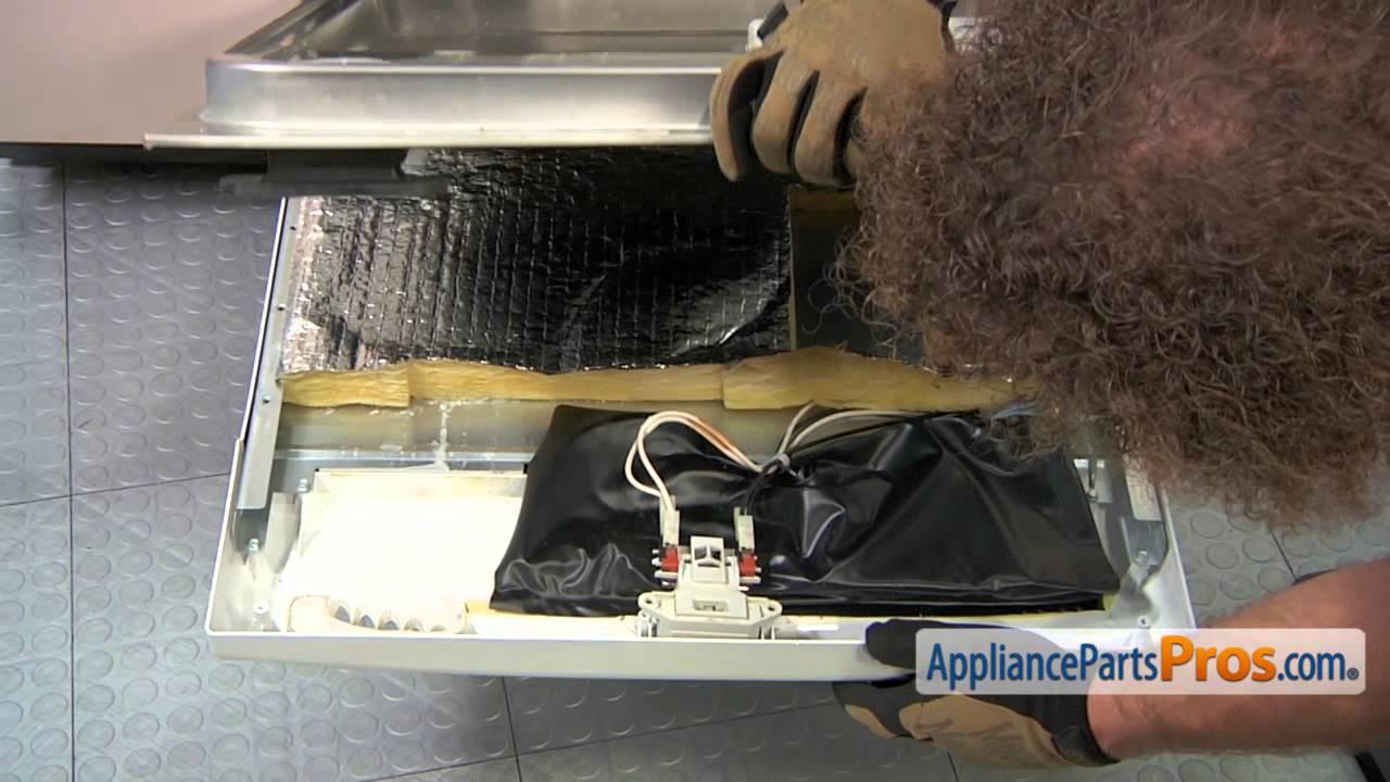 Dishwasher Door Latch Handle Part 99002837 How To