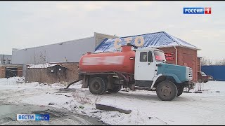 Доступ к колодцу, в который нелегально сливали отходы ассенизаторские машины, ограничили