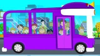 колеса в автобусе | детские песни | Wheels On The Bus | Oh My Genius Russia | Kids Songs