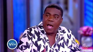 Tracy Morgan On Giving Back To Brooklyn, Dinner With Morgan Freeman | The View