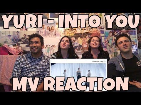 YURI (유리) - Into You (빠져가) MV Reaction [ARIANA GRANDE IS SHAKING!]