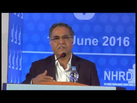 "Speech by BPCL C&MD Shri S Varadarajan on receiving NHRDN ""People CEO Award"" 201"
