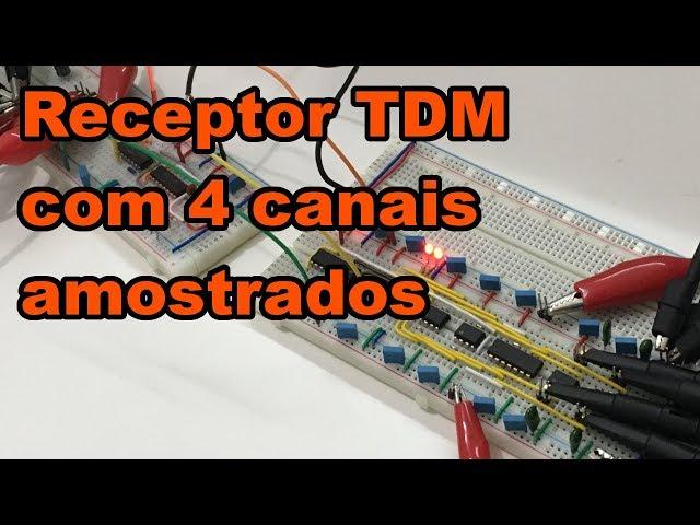 RECEPTOR TDM COM 4 CANAIS AMOSTRADOS | Conheça Eletrônica! #145