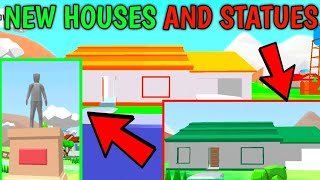 NEW HOUSES AND NEW STATUE IN NEW UPDATE || DUDE THEFT WARS || HARSH IN GAME