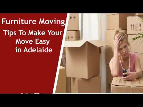 Furniture Moving Tips To Make Your Move Easy in Adelaide