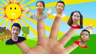 Finger Family Song (Daddy Finger ) Nursery Rhymes for Kids by Bong TV
