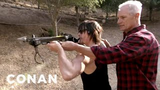 Crossbow Training With Norman Reedus