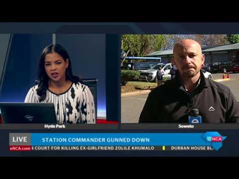 Police station commander killed