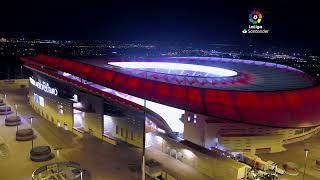 Calentamiento Atlético de Madrid vs FC Barcelona