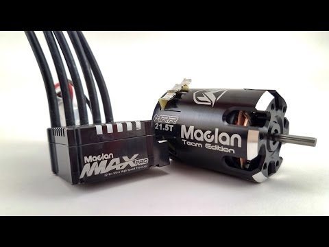 Maclan MMAX Pro 160A ESC & MRR Team Edition Brushless Motors
