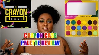 CRAYON CASE- BOX OF CRAYONS PALETTE [REVIEW] + [DEMO]