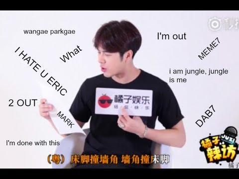 Jackson Wang being Jackson Wang