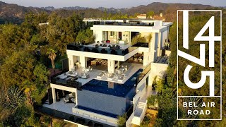 Bel Air's Newest LUXURY HOME - 1475 Bel Air Road   Los Angeles, California