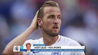FOX Sports' Alexi Lalas on Soccer Hair Then & Now | The Rich Eisen Show | 6/28/18