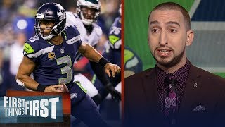 Nick and Cris react to the Seahawks 24-10 win over the Eagles during Week 13 | FIRST THINGS FIRST
