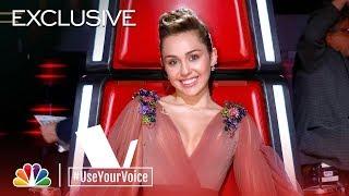 The Voice 2018 - Janice Freeman on Miley Cyrus (#UseYourVoice)