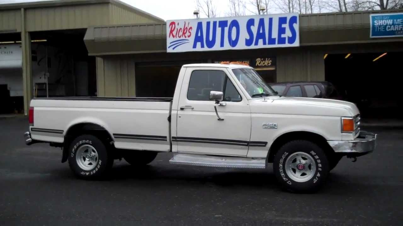 Ricks Auto Sales >> 1988 FORD F150 SOLD!! - YouTube