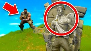 I AM STONE CHALLENGE In FORTNITE Battle Royale!
