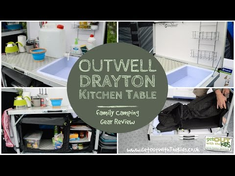 video Outwell Drayton Kitchen Table Review – Highly recommended