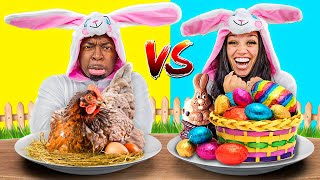 EASTER VS REAL FOOD CHALLENGE