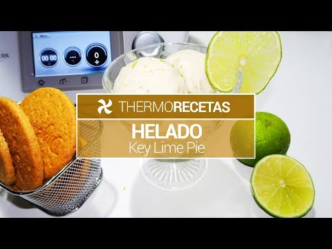 Helado Key Lime Pie Thermomix