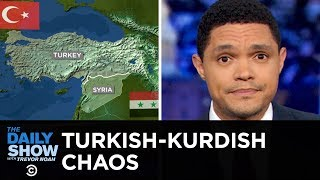Chaos Unfolds After Trump Gives Kurds the Cold Shoulder   The Daily Show