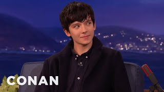 Asa Butterfield Is Heartbroken He Can't Drink In America  - CONAN on TBS