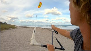 """How To"" Kiteboarding, Kitesurfing Self Landing"