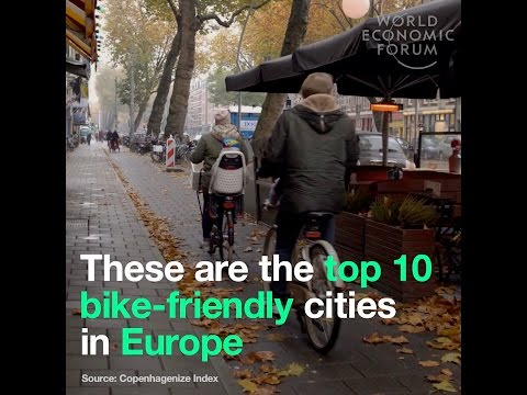 These are the top 10 bike friendly cities in Europe